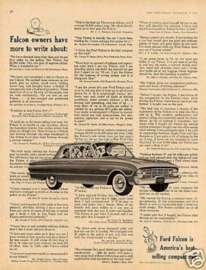 Ford Falcon Car (1960)