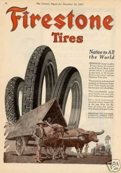Firestone Tires Color (1917)