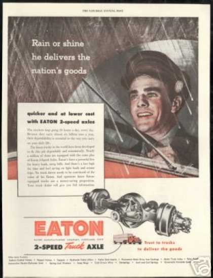 Eaton 2 Speed Truck Axle Driver Vintage (1948)