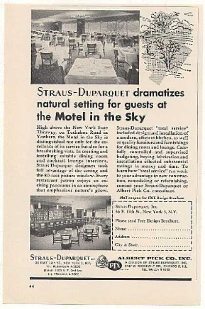 Motel in the Sky Yonkers NY Straus-Duparque (1963)