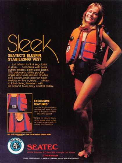 Seatec Bluefin Sabilizing Vest T (1978)