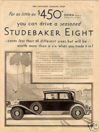 Studebaker Eight Car (1930)