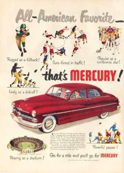 Mercury 4 Door Football Stadium Theme (1950)