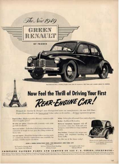 Standard Cars Vanguard Four Cylinder Ad T (1955)