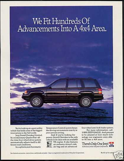 Jeep Grand Cherokee Limited Advancements (1993)