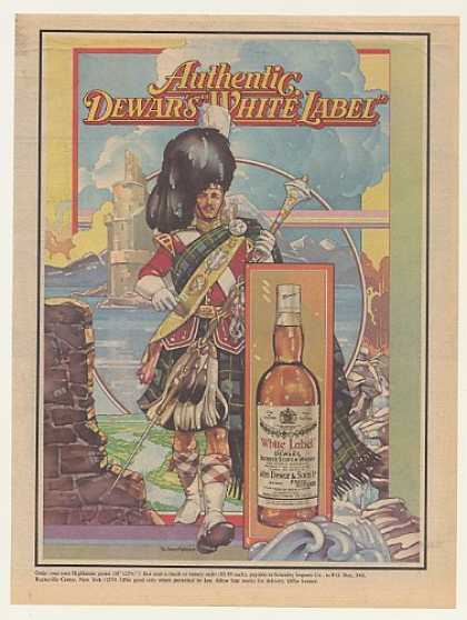 Dewar's White Label Scotch Dewar Highlander (1979)