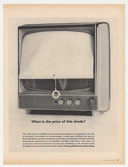 Shade TV Television Commercial Young & Rubicam (1963)