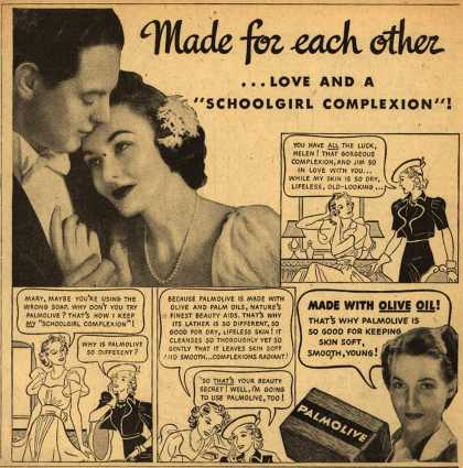 Palmolive Company's Palmolive Soap – Made for each other (1939)