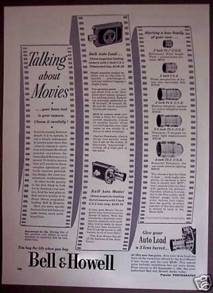 Original Bell & Howell Movie Cameras (1951)