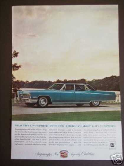 Blue Cadillac for 67' Car Photo (1966)