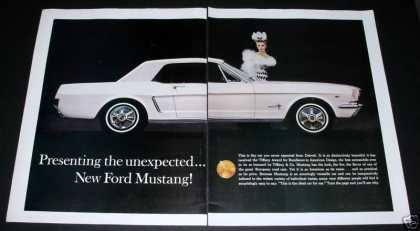 Ford New Mustang, 2 Big Pages (1964)