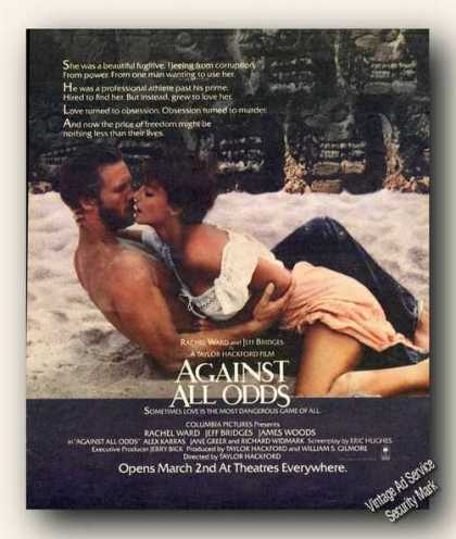 Rachel Ward/jeff Bridges Photo Movie Promo (1984)
