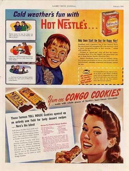 Nestle's Cocoa & Chocolate (1942)