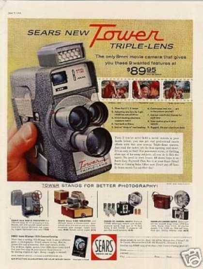 Tower Triple-lens Camera (1958)
