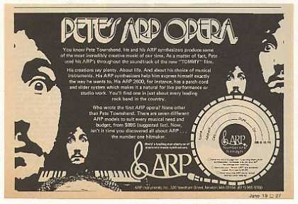 Pete Townshend ARP Synthesizer (1975)