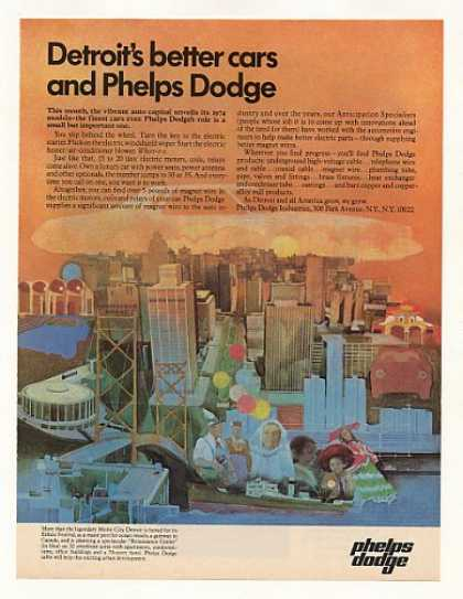 Detroit Better Cars Phelps Dodge (1973)