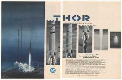 US Air Force Thor Missile AC Spark Plugs (1958)