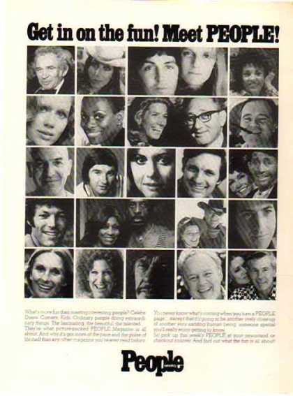 People Magazine – Stars of the 70's (1976)