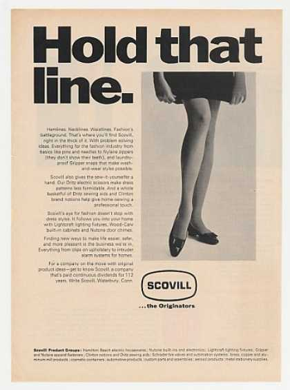 Scovill Hold Hemline Lady Legs Photo Fashion (1968)