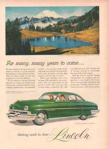 Lincoln Cosmopolitan Sedan Car – Green (1948)