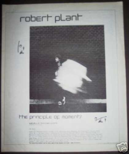 Robert Plant Principle Album Record Promo (1984)