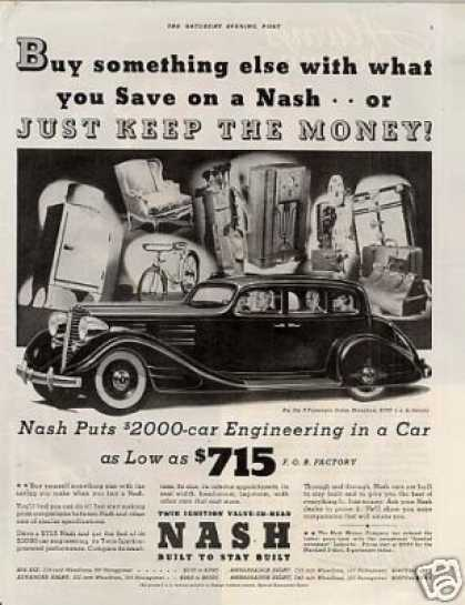 Nash Six Brougham Sedan (1934)