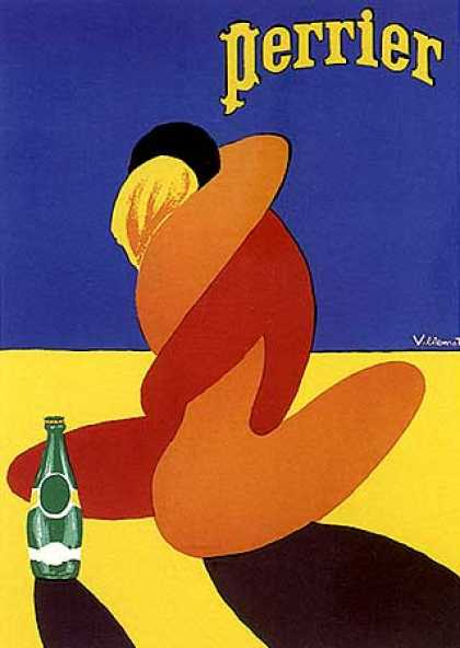 Perrier by Bernard Villemot (1976)
