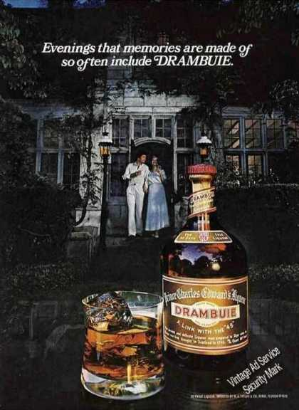 Drambuie Evenings That Memories Are Made Of (1978)