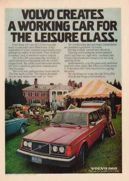 Volvo 265 – Car – Working car for the Leisure Class (1976)