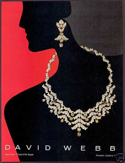 David Webb Diamond Jewelry Photo (1983)