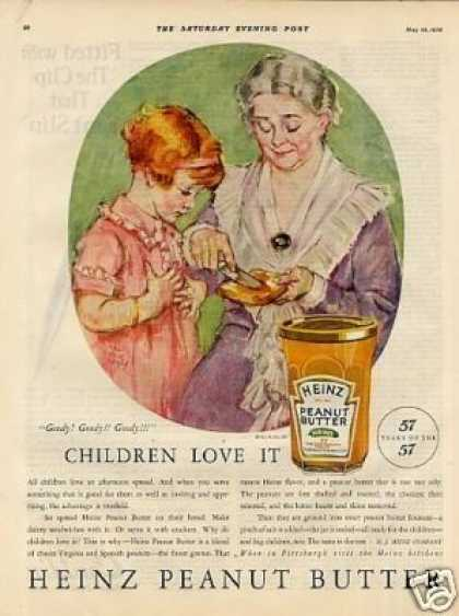 Heinz Peanut Butter Color (1926)