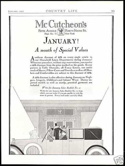 McCutcheon's New York 5th Ave Linen Chauffeur (1927)