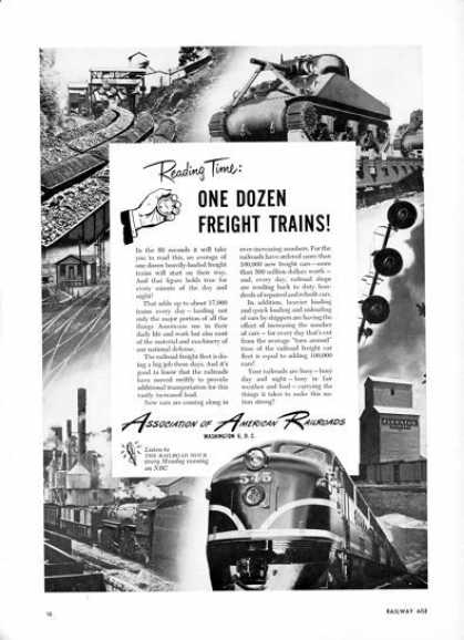 Association of American Railroads Train (1950)