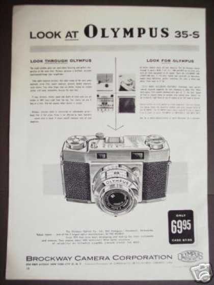 Olympus 35-s Camera Photography (1957)