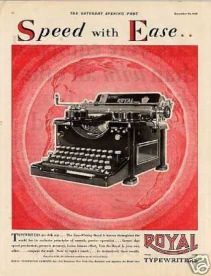 Royal Typewriter (1928)