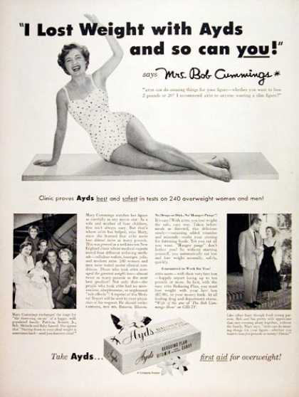 Ayds Weight Loss (1956)