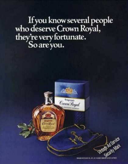 Seagram's Crown Royal Nice (1977)