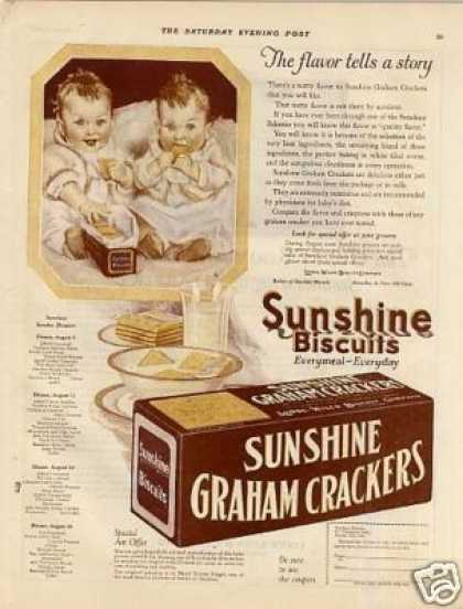 Sunshine Graham Crackers Color (1923)