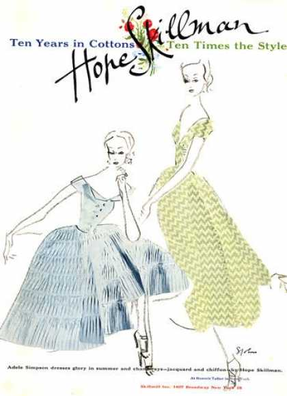 Hope Skillman Simpson Dresses Chiffon (1953)