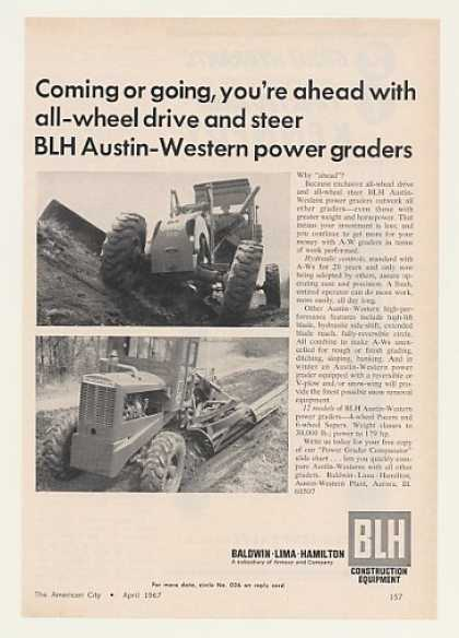 BLH Austin-Western Pacer Super Power Graders (1967)