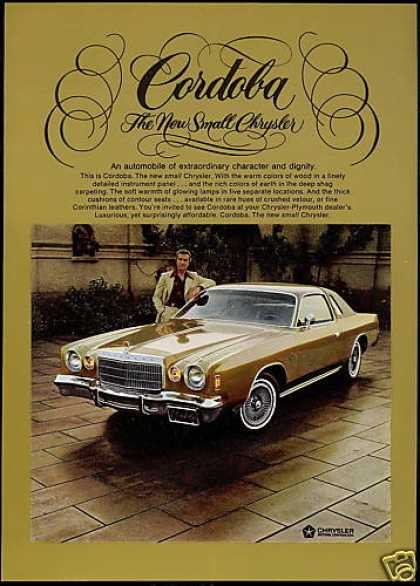 Chrysler Cordoba Car Ricardo Montalban Photo (1975)