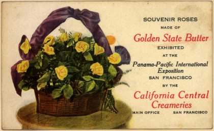 California Central Creamerie's Golden State Butter roses – Souvenir Roses