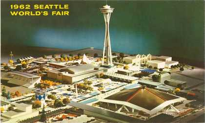Maquette of World&#8217;s Fair, Seattle, Washington (1962)