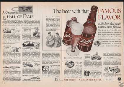 Schlitz Milwaukee Famous Beer (1939)