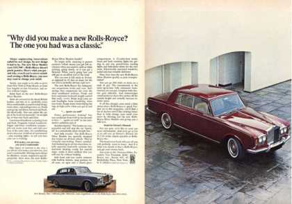 Rolls Royce Silver Shadow Bentley (1966)