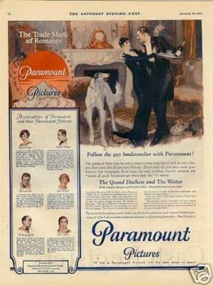 Paramount Pictures Color (1926)