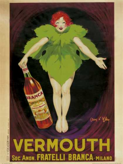 Vermouth Fratelli Branca (1922)