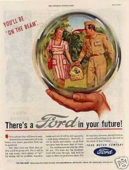 "Ford Ad ""You'll Be On the Beam... (1945)"