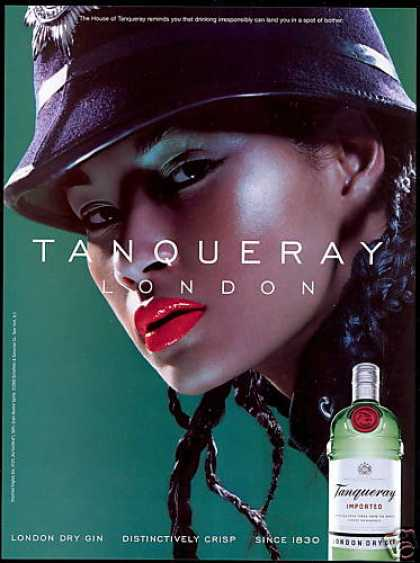 Tanqueray Gin London Bobbie Police Photo (2000)