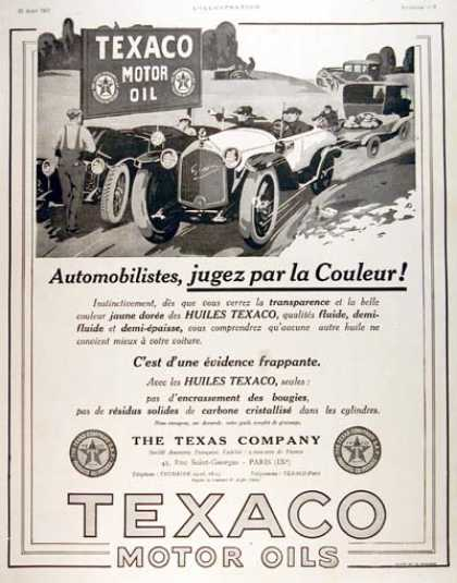 Texaco Oil & Gasoline (1923)
